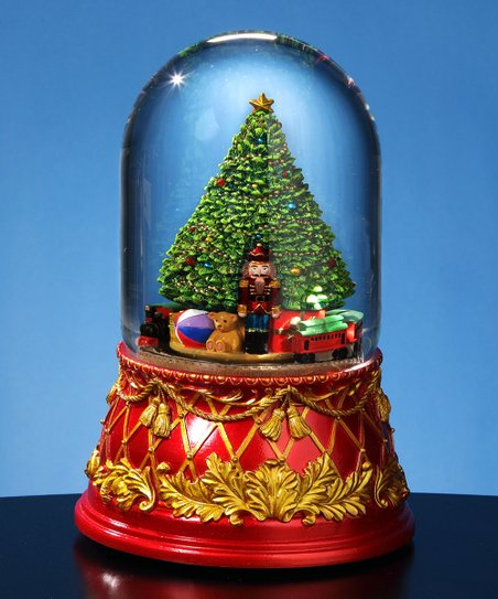 love this product Nutcracker Tree Domed Musical Water Globe