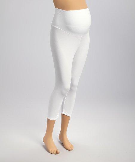 ff13878a5162d Ashley Nicole Maternity Ashley Nicole White Over-Belly Maternity ...