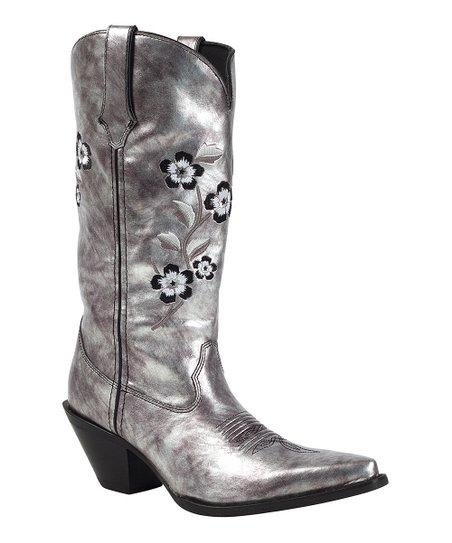 Durango Silver Crush Cowboy Boot