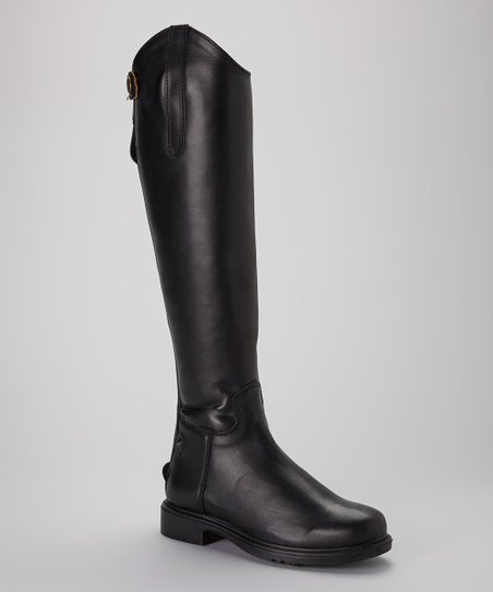 Baroque Leather Dress Boot