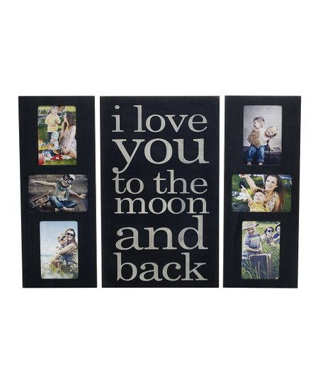 I Love You To The Moon Collage Wall Frame Plaque Zulily