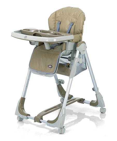 Zooper Beige Peas   Carrots High Chair  32a53819eb