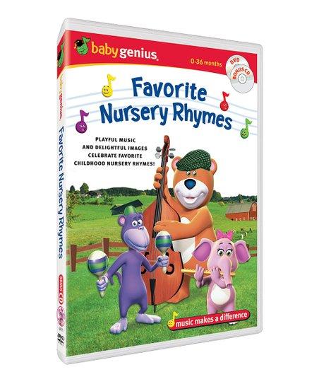 Favorite Nursery Rhymes Dvd Cd