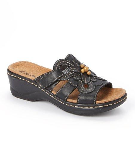 c3daf6d6057 Clarks Black Lexi Basil Leather Sandal