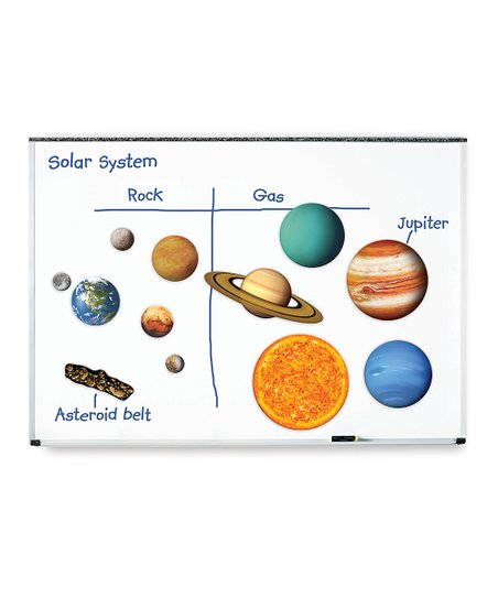 Learning Resources® Giant Magnetic Solar System Set