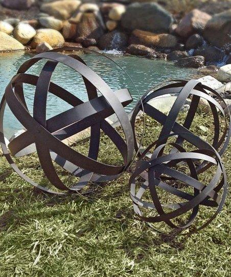 Garden Globe Décor Set
