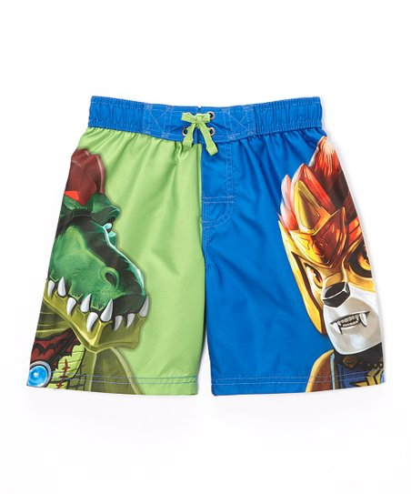 f4d13510b7 Isaac Morris LTD LEGO Ninjago Swim Trunks - Boys | Zulily
