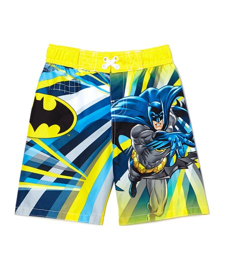 387ec235b3 Dreamwave Apparel Batman Swim Trunks - Toddler | Zulily