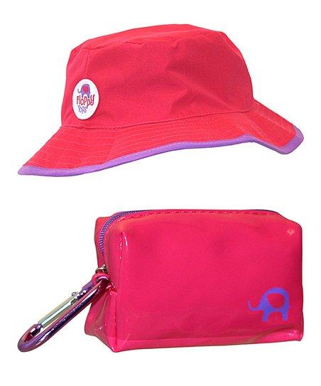 love this product Magenta Floppy Reversible Sun   Rain Hat 3bc35693fbf