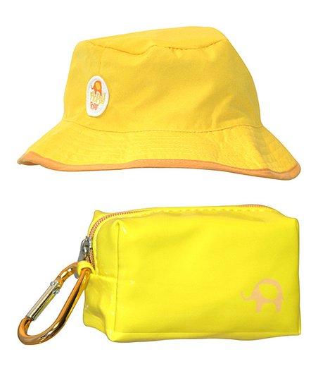 b46c79ebc1d love this product Yellow Floppy Reversible Sun   Rain Hat