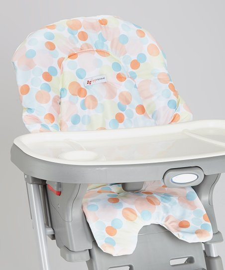 Miraculous New Gen Baby Orange Bubbles High Chair Cover Zulily Gmtry Best Dining Table And Chair Ideas Images Gmtryco