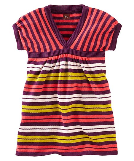 c772e55ee Tea Collection Hyacinth   Yellow Stripe Sweater Dress - Infant ...