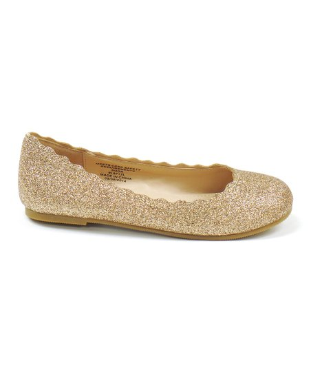 SODA Gold Glitter Bench Flat   Best Price and Reviews   Zulily