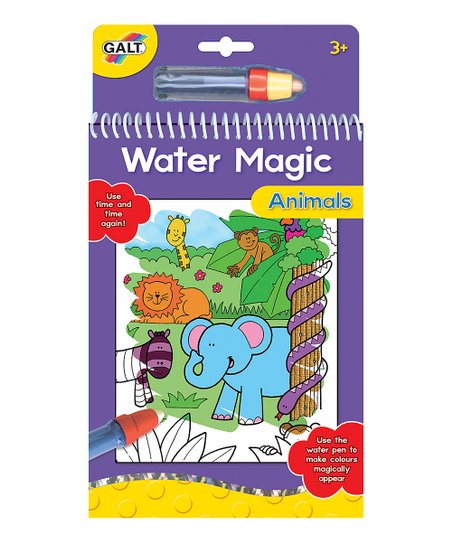 Galt Toys Water Magic Animals Coloring Book
