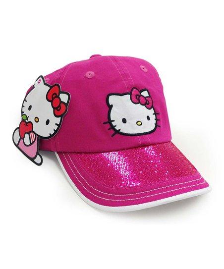 f96882e5d Hello Kitty® Magenta Hello Kitty Baseball Cap