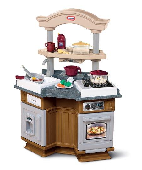 Little Tikes Brown Sizzle N Pop Kitchen Set | Zulily