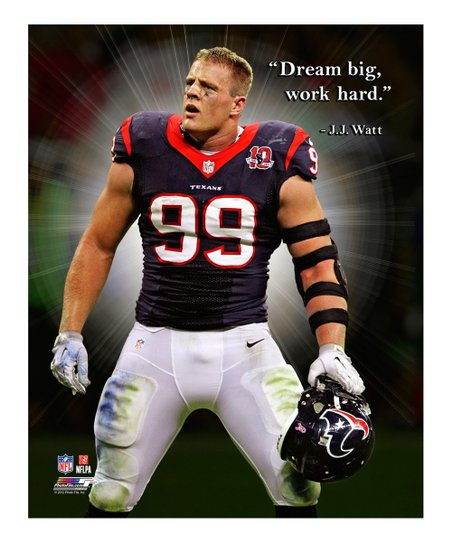 Photo File J.J. Watt Pro Quote Gallery-Wrapped Canvas | Zulily