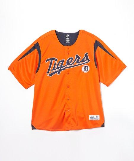 newest 3d616 46d94 MLB Detroit Tigers Orange Baseball Jersey - Men