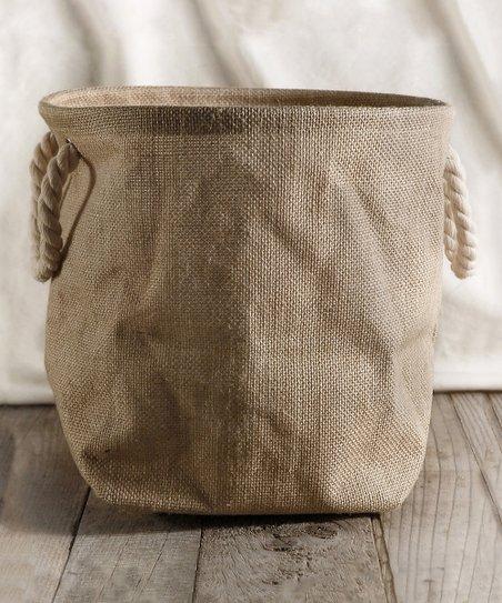 Burlap Planter Bag
