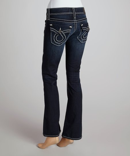 654e8ae0269 love this product One-Year Picasso Slim Sophie Mid-Rise Bootcut Jeans -  Women