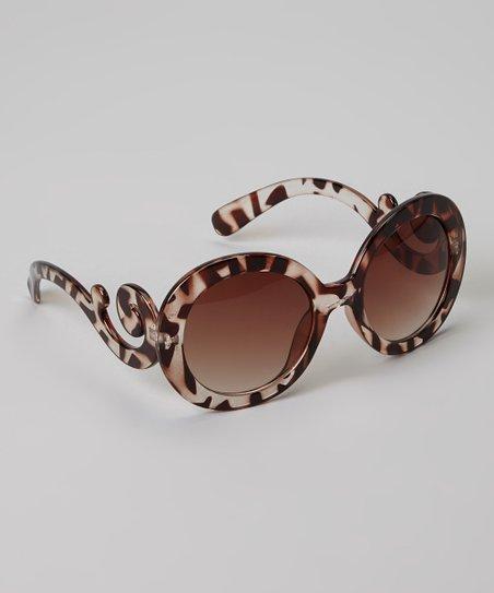 999d3ec55e Picki Nicki Hair Bowtique Brown Tortoise Baroque Swirl Sunglasses ...