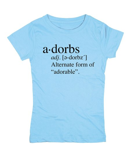 a6a72f325 love this product Aqua 'Adorbs' Definition Fitted Tee - Girls