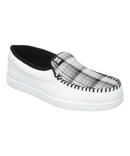DC White \u0026 Black Villain Sneaker - Men