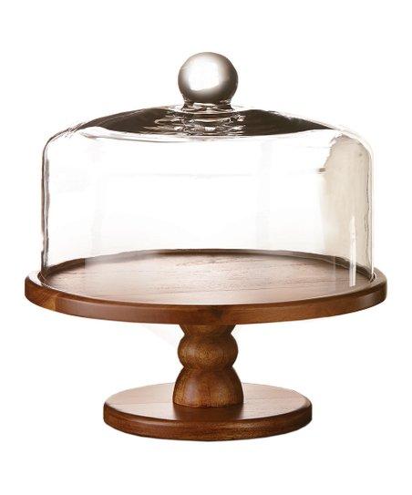 9 Madera Pedestal Cake Plate Dome