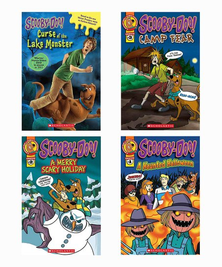 Scholastic Scooby-Doo Mystery Comic Reader Paperback Set