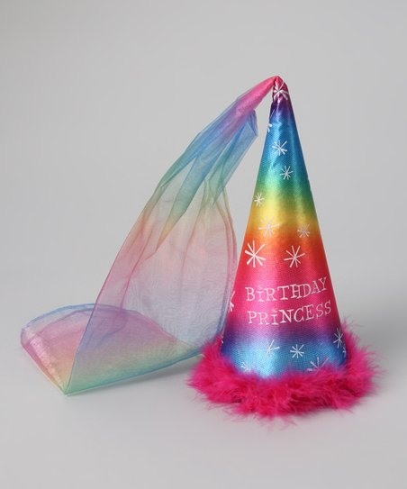 Love This Product Rainbow Birthday Princess Damsel Hat