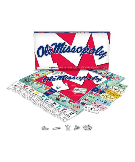 Ole Miss Opoly Board Game