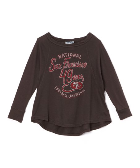 love this product San Francisco 49ers Dolman Tee - Toddler   Girls 6ea63c9d2