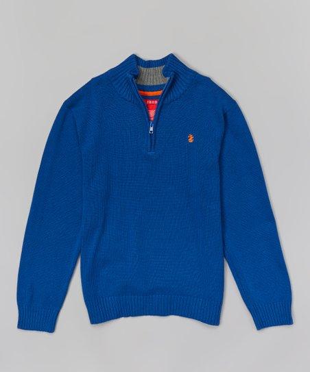 IZOD Boys Half-Zip Sweater