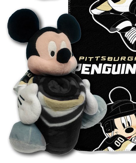 The Northwest Company Pittsburgh Penguins Mickey Mouse Plush Throw