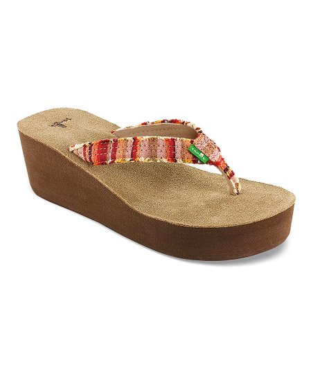 0b5290a3746c03 Sanuk Coral Poncho Fraidy Cat Wedge - Women