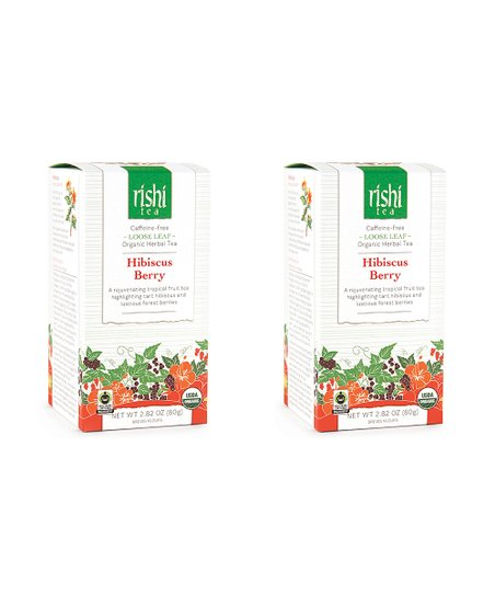 Rishi Tea Organic Hibiscus Berry Loose Leaf Tea Set Of Two Zulily