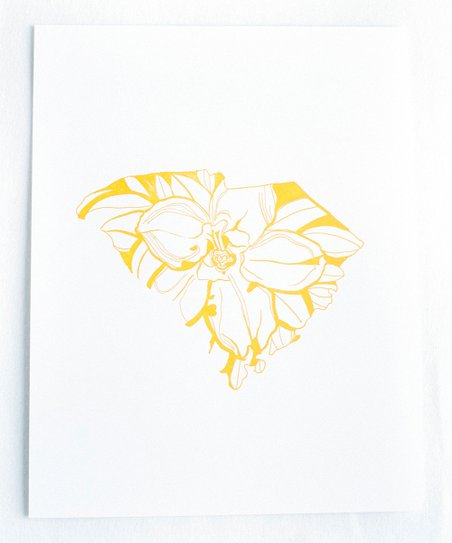 Thimblepress South Carolina Yellow Jessamine State Flower