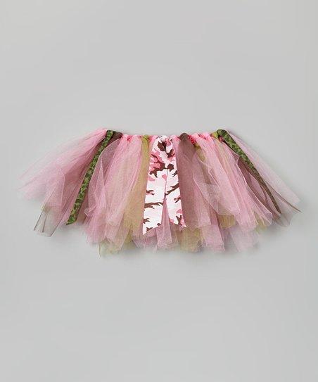1ddb4fee75a05 Western Border Pink Camo Tutu - Infant & Toddler | Zulily