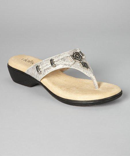 ed87e2295217 love this product Silver Kismet Sandal