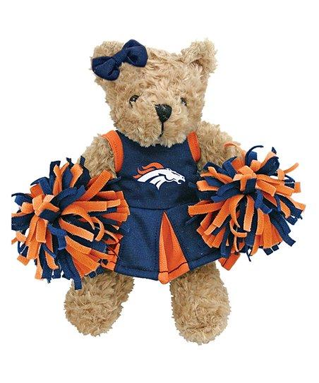 Hunter Denver Broncos Cheerleader Bear Plush Toy Zulily