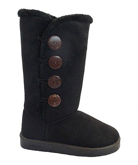 98743d3d6ec00 Chulis Footwear Black Button GG Boot - Women