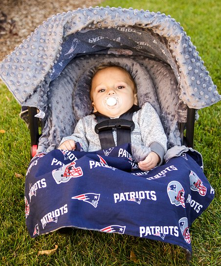 wholesale dealer dcd84 4c695 Baby Fanatic New England Patriots Car Seat Caboodle Set