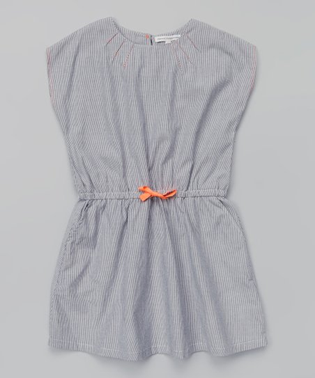 7c408149597 French Connection Classic Navy Blouson Dress - Girls   Zulily