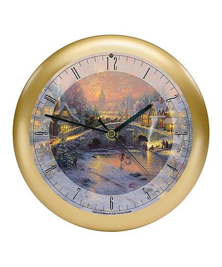 Mark Feldstein Associates Inc Thomas Kinkade Spirit Of Christmas 8 Musical Clock Best Price And Reviews Zulily
