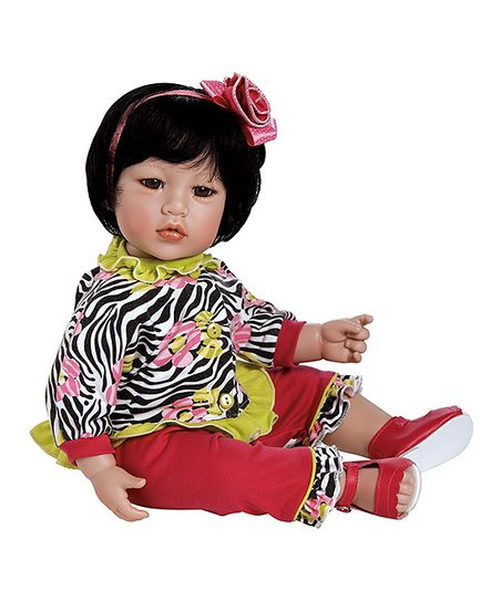 ac88edd41 love this product Zebra Rose Toddler 20   Doll