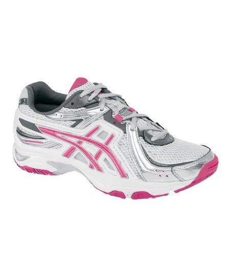 8f6881c4cba7 ASICS White   Hot Pink GEL-Uptempo Cross-Training Shoe - Women