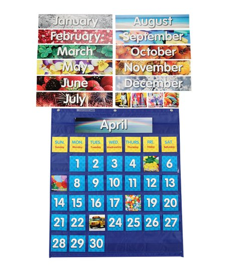Love This Product Monthly Calendar Pocket Chart Set