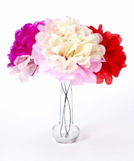 Geeperz Jumbo Tissue Paper Flower Kit Set Of 84 Zulily