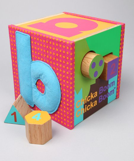 Manhattan Toy Chicka Chicka Boom Boom Coconut Tree Shape Sorter Baby Products