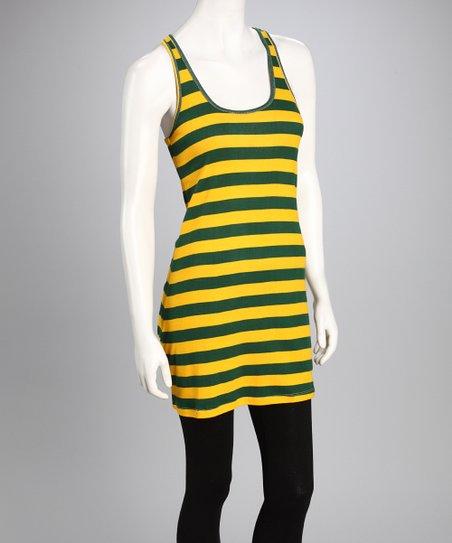 10079c77 Game Bibs Green Bay Packers Colors Sundress - Women